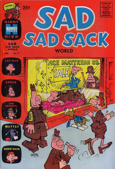 Cover for Sad Sad Sack World (Harvey, 1964 series) #17