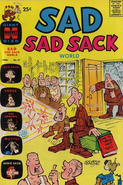 Cover for Sad Sad Sack World (Harvey, 1964 series) #21