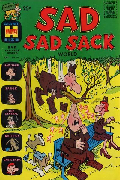 Cover for Sad Sad Sack World (Harvey, 1964 series) #10