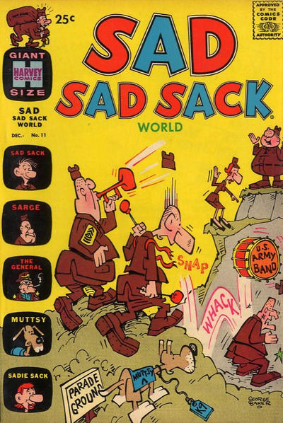 Cover for Sad Sad Sack World (Harvey, 1964 series) #11
