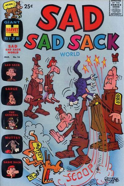 Cover for Sad Sad Sack World (Harvey, 1964 series) #16