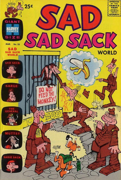 Cover for Sad Sad Sack World (Harvey, 1964 series) #25