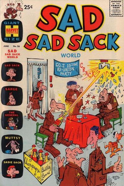 Cover for Sad Sad Sack World (Harvey, 1964 series) #26