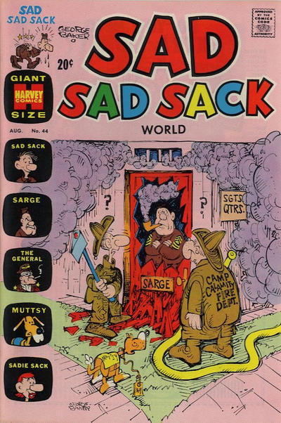 Cover for Sad Sad Sack World (Harvey, 1964 series) #44