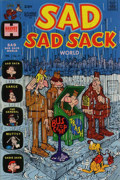 Cover for Sad Sad Sack World (Harvey, 1964 series) #41