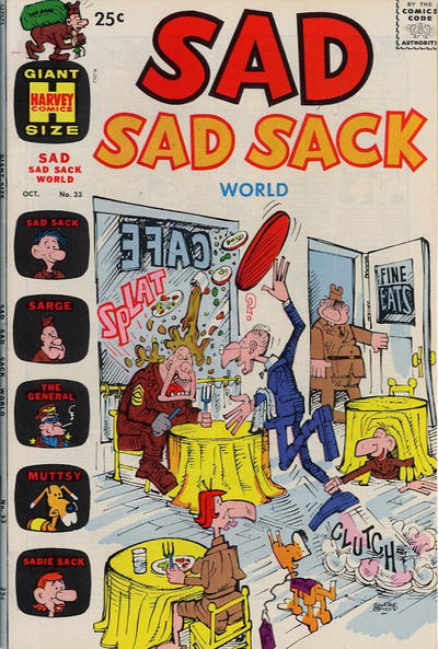 Cover for Sad Sad Sack World (Harvey, 1964 series) #33