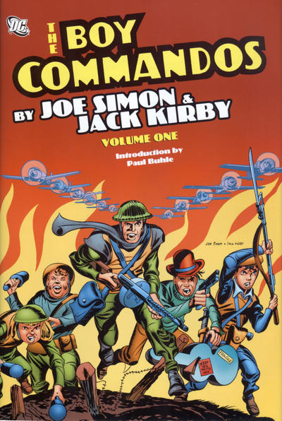 Cover for The Boy Commandos by Joe Simon & Jack Kirby (DC, 2010 series) #1