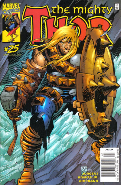 Cover for Thor (Marvel, 1998 series) #25 [Newsstand Edition]