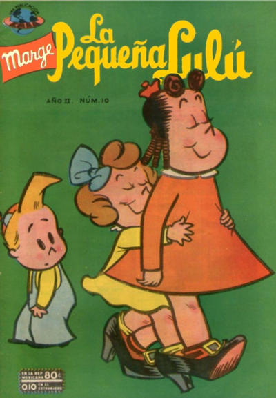 Cover for La Pequeña Lulú (Editorial Novaro, 1951 series) #10