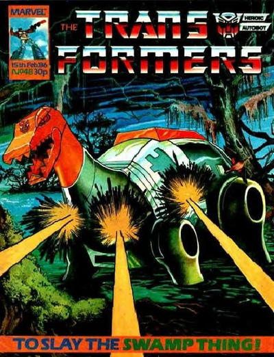 Cover for Transformers (Marvel UK, 1984 series) #48