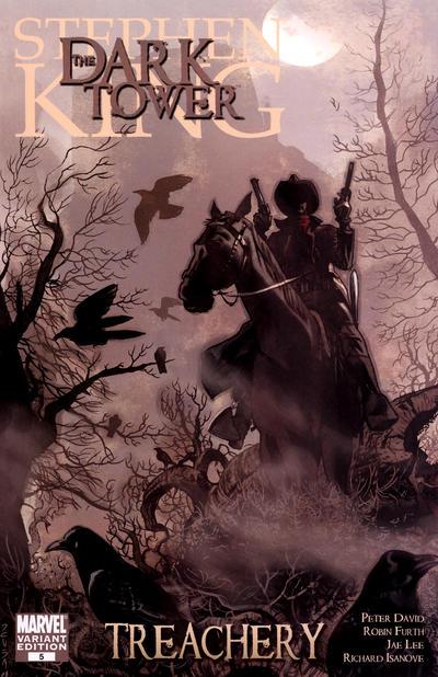Cover for Dark Tower: Treachery (Marvel, 2008 series) #5