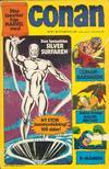 Cover for Conan (Semic, 1973 series) #1/1974