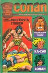Cover for Conan (Semic, 1973 series) #2/1975