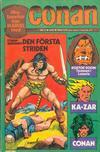 Cover for Conan (Semic, 1973 series) #2/1975