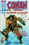 Cover for Conan (Semic, 1990 series) #8/1991