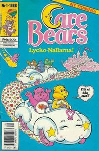 Cover Thumbnail for Care Bears (Semic, 1988 series) #1/1988