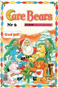 Cover Thumbnail for Care Bears (Semic, 1988 series) #6/1988