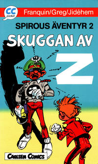 Cover Thumbnail for CC pocket (Carlsen/if [SE], 1990 series) #6 - Spirous äventyr 2: Skuggan av Z