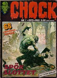 Cover Thumbnail for Chock (Semic, 1972 series) #1/1972