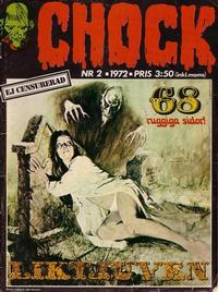 Cover Thumbnail for Chock (Semic, 1972 series) #2/1972