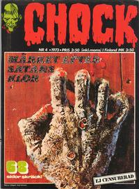 Cover Thumbnail for Chock (Semic, 1972 series) #4/1973