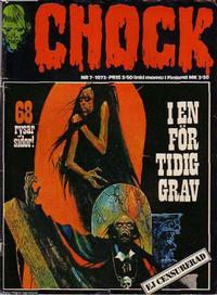 Cover Thumbnail for Chock (Semic, 1972 series) #7/1973