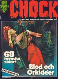 Cover Thumbnail for Chock (Semic, 1972 series) #8/1973