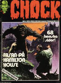 Cover Thumbnail for Chock (Semic, 1972 series) #3/1974