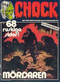 Cover Thumbnail for Chock (Semic, 1972 series) #4/1974