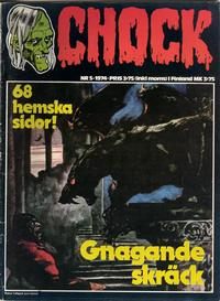 Cover Thumbnail for Chock (Semic, 1972 series) #5/1974
