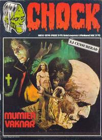 Cover Thumbnail for Chock (Semic, 1972 series) #6/1974