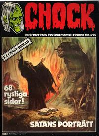 Cover Thumbnail for Chock (Semic, 1972 series) #8/1974