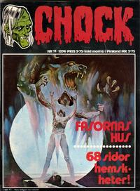 Cover Thumbnail for Chock (Semic, 1972 series) #11/1974