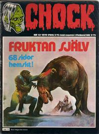 Cover Thumbnail for Chock (Semic, 1972 series) #12/1974