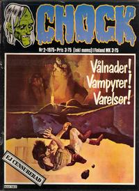 Cover Thumbnail for Chock (Semic, 1972 series) #2/1975