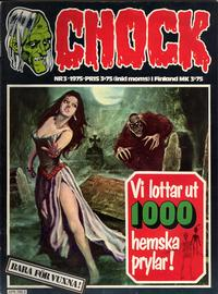 Cover Thumbnail for Chock (Semic, 1972 series) #3/1975