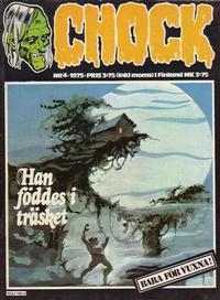 Cover Thumbnail for Chock (Semic, 1972 series) #4/1975