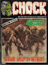 Cover Thumbnail for Chock (Semic, 1972 series) #6/1975
