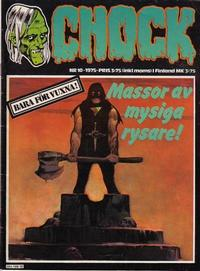 Cover Thumbnail for Chock (Semic, 1972 series) #10/1975