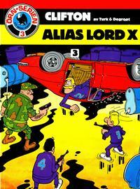 Cover Thumbnail for Clifton (Semic, 1982 series) #3 - Alias Lord X