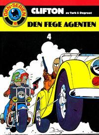 Cover Thumbnail for Clifton (Semic, 1982 series) #4 - Den fege agenten