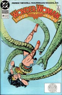 Cover for Wonder Woman (DC, 1987 series) #38