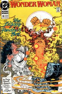 Cover Thumbnail for Wonder Woman (DC, 1987 series) #45 [Direct]