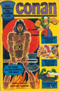 Cover Thumbnail for Conan (Semic, 1973 series) #1/1973