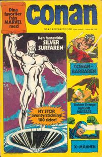 Cover Thumbnail for Conan (Semic, 1973 series) #1/1974