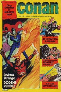 Cover Thumbnail for Conan (Semic, 1973 series) #5/1974