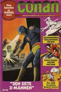 Cover Thumbnail for Conan (Semic, 1973 series) #6/1974