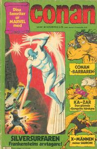 Cover for Conan (Semic, 1973 series) #1/1975