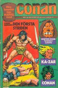 Cover Thumbnail for Conan (Semic, 1973 series) #2/1975