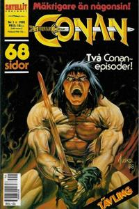 Cover for Conan (Semic, 1990 series) #1/1991